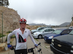 Bad weather at Windy Point on Mount Lemmon