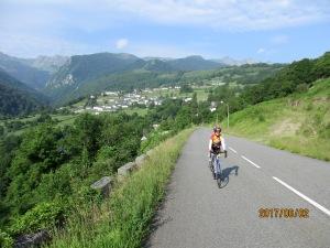 Marie Blanque climb