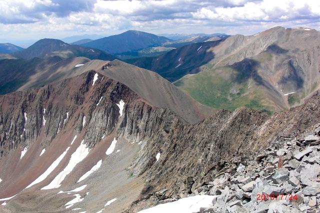 Mt Guyot Ridge2