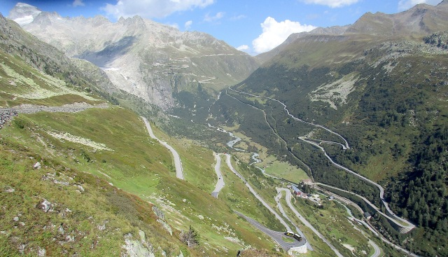 Furka from Grimsel