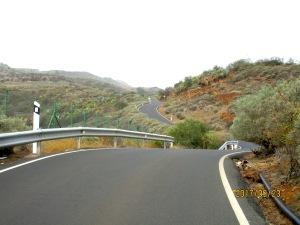 Pico las Nieves road
